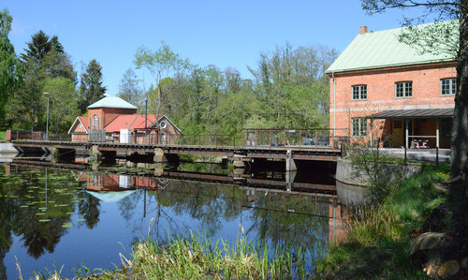In pictures: How this old Swedish flour mill was revived