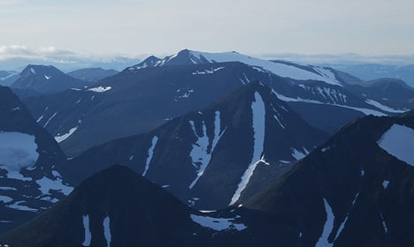 Sweden gains a new mountain top in 'sensational' discovery