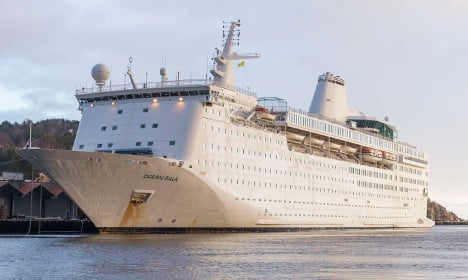 Sweden ditches plan to host asylum seekers on cruise ship