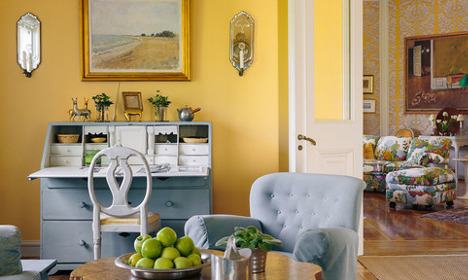 In pictures: eight of Sweden's most colourful homes