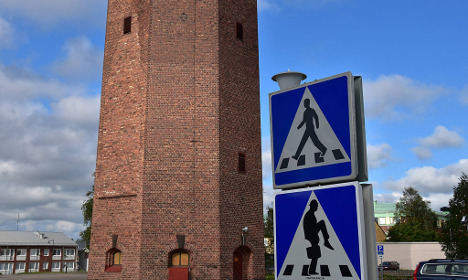 Why this quirky traffic sign is making Swedes do silly walks