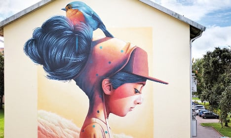 This Swede's amazing murals will make your jaw drop