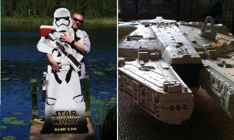 Can you solve this Swede's strange Star Wars mystery?