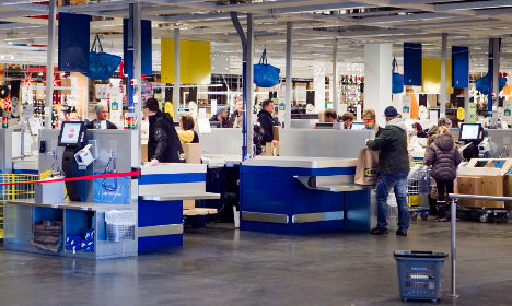What happens if you spend the night at Ikea?