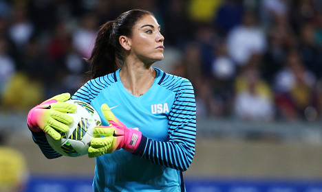 US keeper kicked off team for calling Swedes cowards