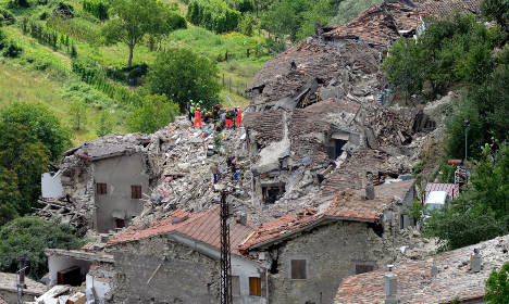 Sweden on standby to help earthquake-hit Italy