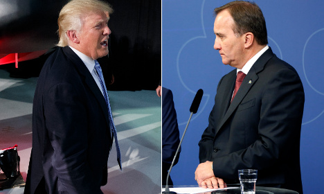 Swedish PM: Trump's campaign based on 'fear'