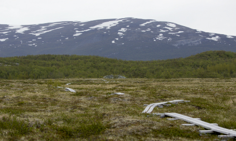 Swedish hikers found after missing for six days