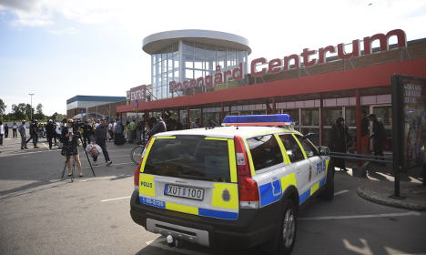 Suspected Malmö shooter hands himself in to police