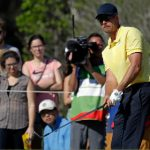 Sweden's Stenson pulls out of Barclays with injured knee