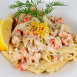 How to make this delicious Swedish crayfish pasta