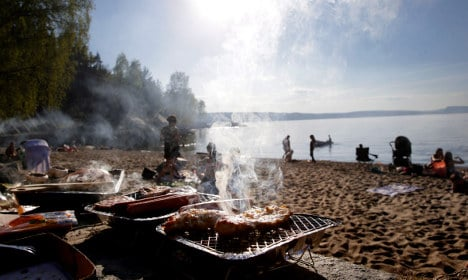 Autumn is cancelled in Sweden, fire up the barbecue