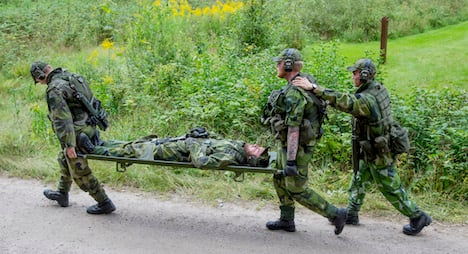 Spies spotted at Swedish military exercises