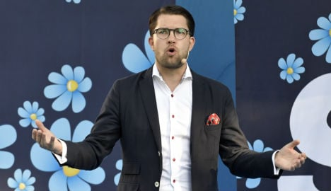 Swedish PM rules out talks with 'racist' SD party