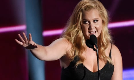 Watch Amy Schumer eject sexist heckler at Swedish gig