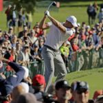 Heckler humbles Swedish golf champion with perfect putt