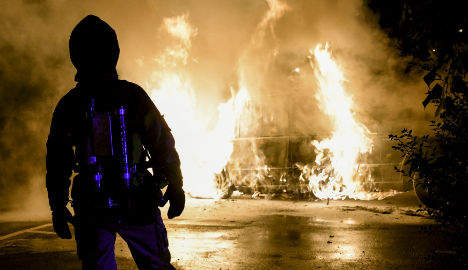 Man arrested in Malmö after night of car fires
