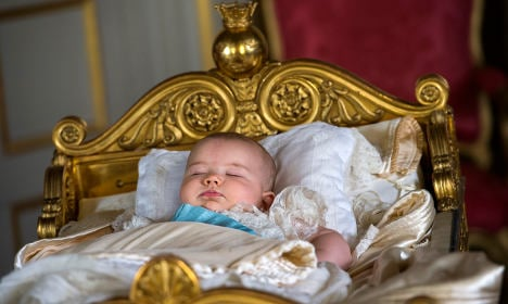 In pictures: Sweden's Prince Alexander's royal christening