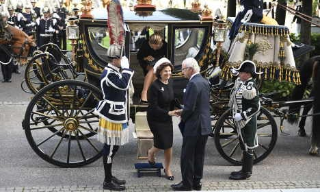 Swedish Riksdag opens - but what does it mean and why is the king there?