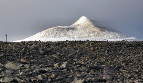 Is Sweden about to get a new highest peak?