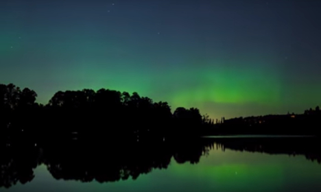 Incredible time-lapse video of Northern Lights in Stockholm