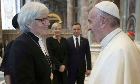 Five facts on Protestantism as the Pope visits Sweden