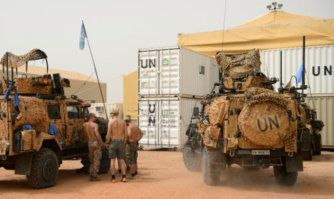 Suicide bomber dies in attack on Swedish troops in Mali