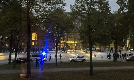 Police officers injured in Stockholm football riot