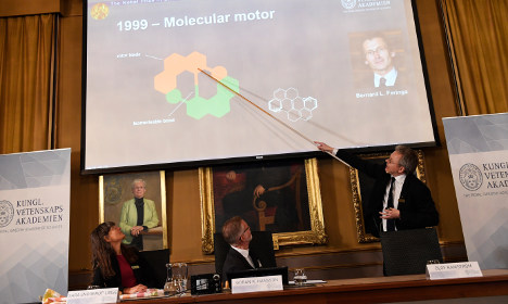 Who are the 2016 Nobel Chemistry winners?