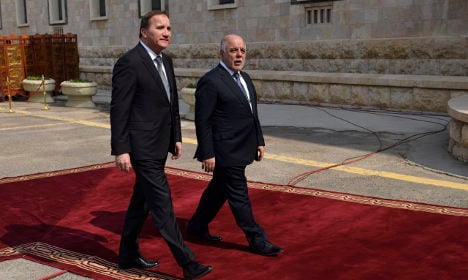 Löfven: 'Sweden will double its number of troops in Iraq'
