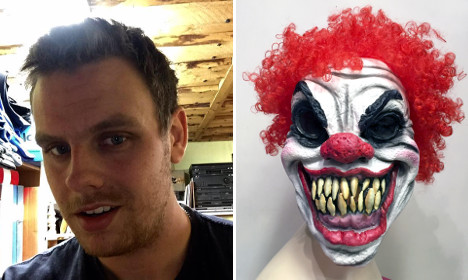 Swede punches clown that scared his grandmother