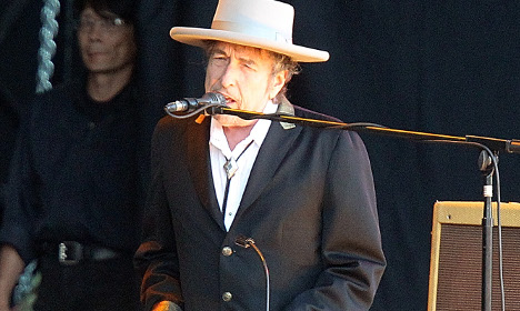 Bob Dylan to come to Stockholm, may perform