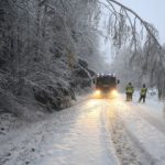 First winter snowstorms cause traffic chaos in Sweden
