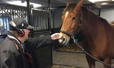 This man, 96, just wanted to ride a horse one last time...