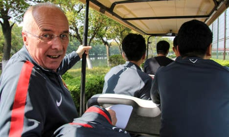 Sven-Göran Eriksson ditched by mega-rich Chinese club