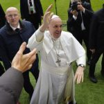Pope Francis holds Catholic mass in secular Sweden