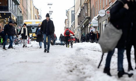 Stockholm could be about to turn into an ice skating rink