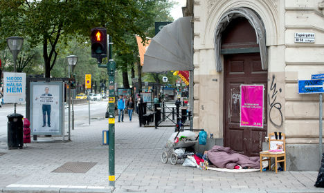 Are homeless figures rising because of housing crisis?