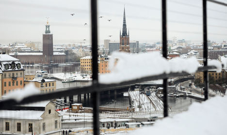 Stockholm had its snowiest November day in 111 years