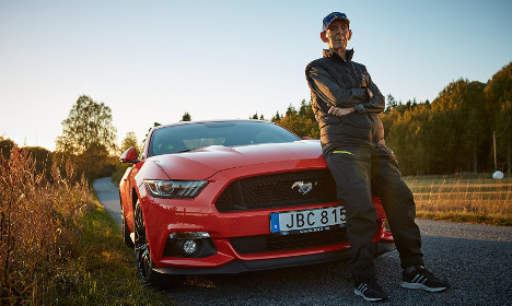 This 97-year-old Swede is the world's oldest Mustang owner