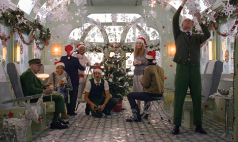 The Wes Anderson Christmas ad everyone's talking about