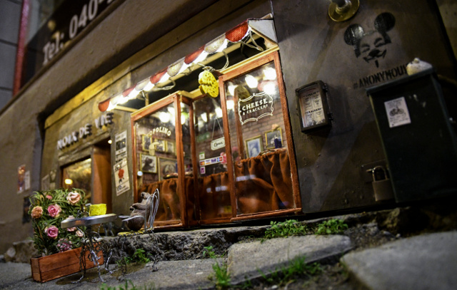 Malmö's famous mini mouse restaurant destroyed by vandals