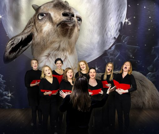 Video: This Swedish choir sang an entire Christmas concert in the style of goats