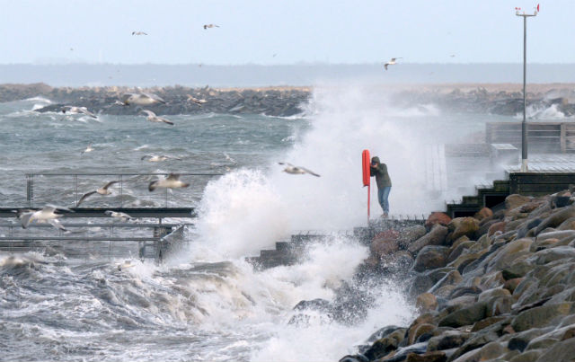 Sweden braces for wild winds and thunderstorms