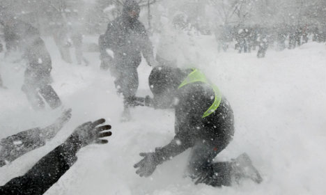 Swedish schoolboy hospitalised after snowball fight turns nasty