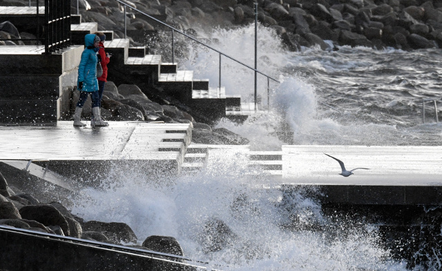 Hurricane-force winds as Storm Urd sweeps through Sweden