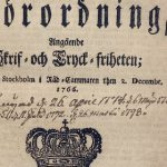 Five things to know about Sweden's pioneering free press act