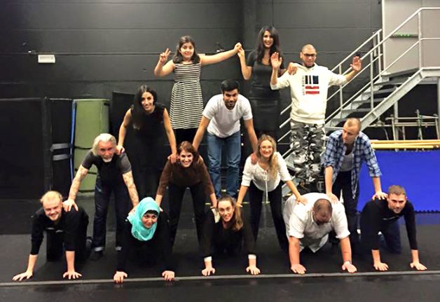 How I fled Isis and celebrated Christmas with a Swedish circus