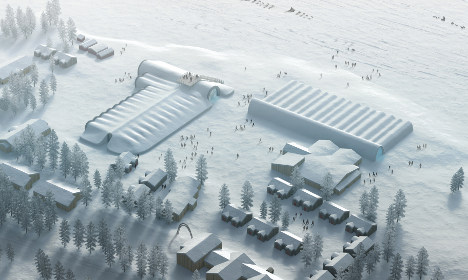 This is what Sweden's new Icehotel looks like