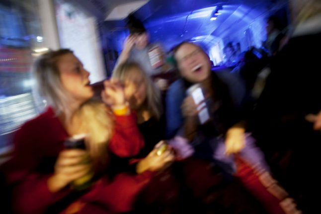 Swedish police 'on alert' for provincial post-Christmas parties